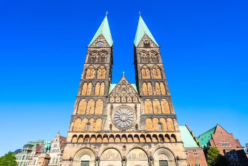 Bremen Katedrali Cephesi