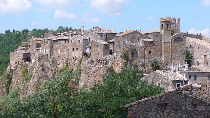 Calcata Köyü - Roma Yakınları