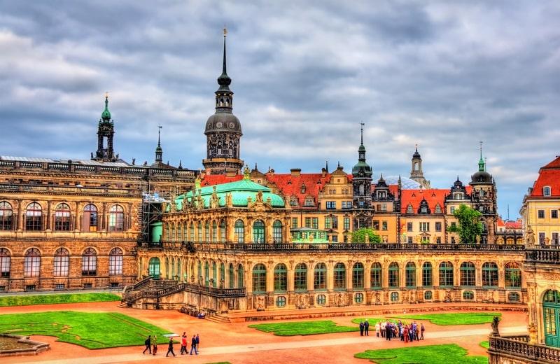 Dresden Kalesi Almanya
