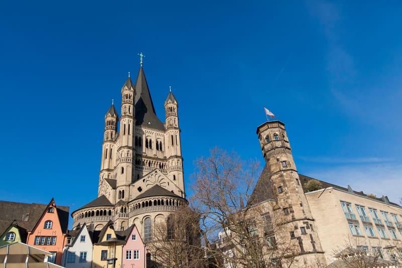 Great St. Martin Kilisesi Köln Gezilecek Yerler