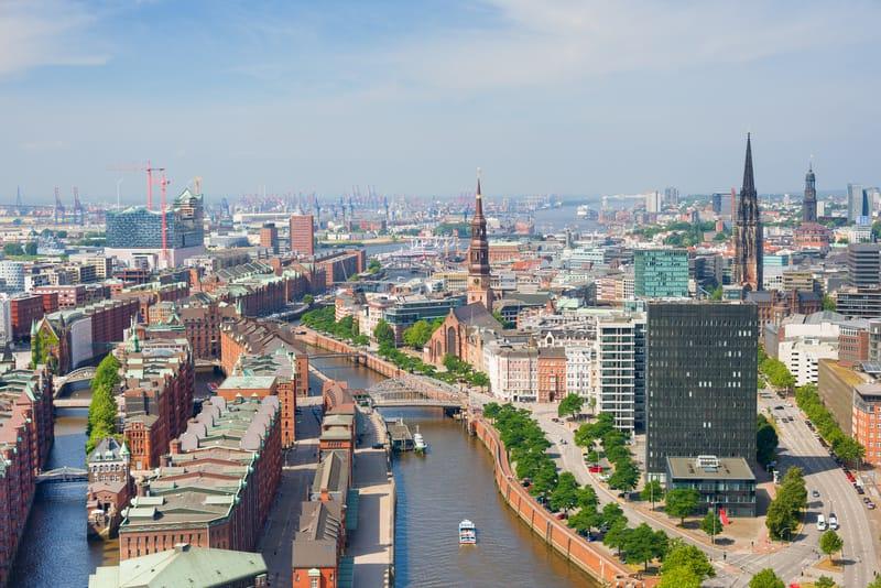 Hamburg Limanı Manzarası - Hamburg Gezilecek Yerler