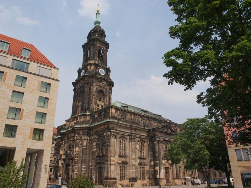 Kutsal Haç Kilisesi Dresden Gezilecek Yerler