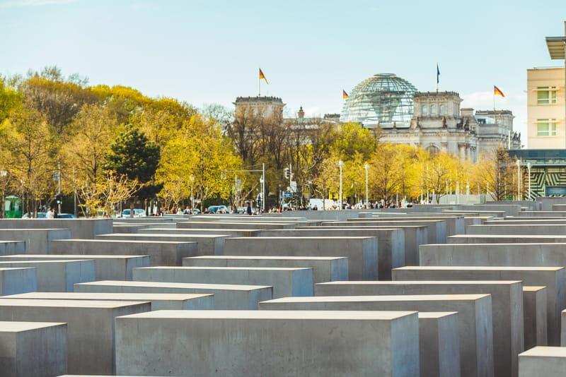 Katledilen Avrupalı Yahudiler Anıtı - Berlin Gezilecek Yerler