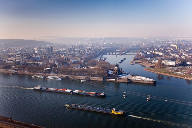 Koblenz Köln Yakınları'nda Görülecek Yerler