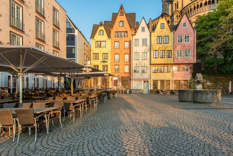 Köln Eski Şehir Bölgesi