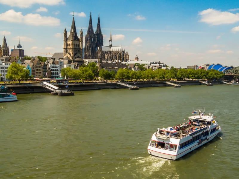 Tekne Turu - Köln'de Yapılacak Şeyler