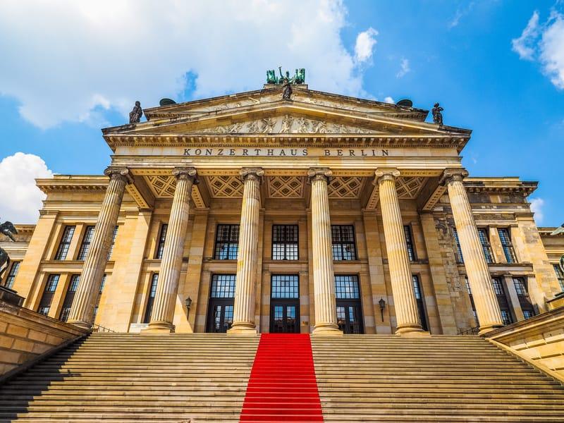 Konzerthaus Berlin de Gezilecek Yerler
