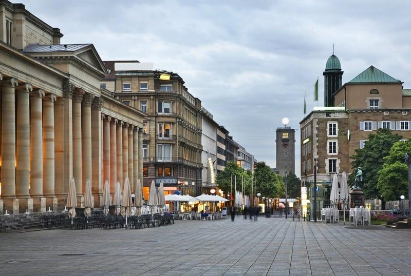 Stuttgart Kral Caddesi