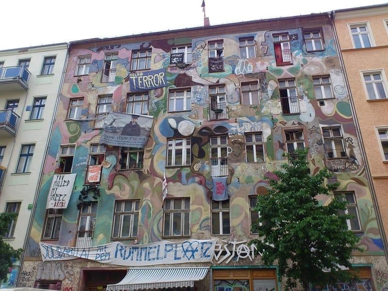 Kreuzberg Bölgesi - Berlin Gezilecek Yerler