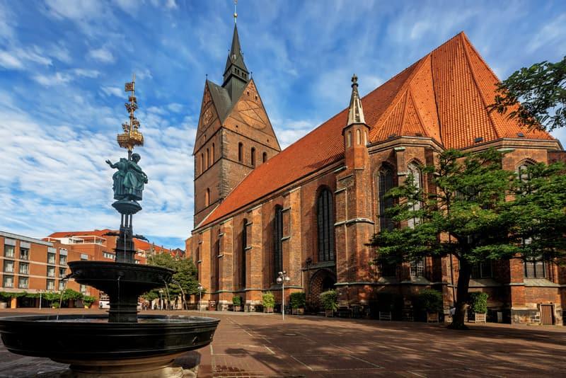 Marktkirche Hannover Gezisi