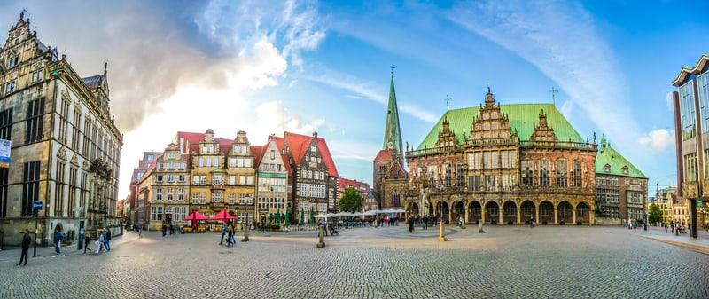 Marktplatz - Bremen de Gezilecek Yerler