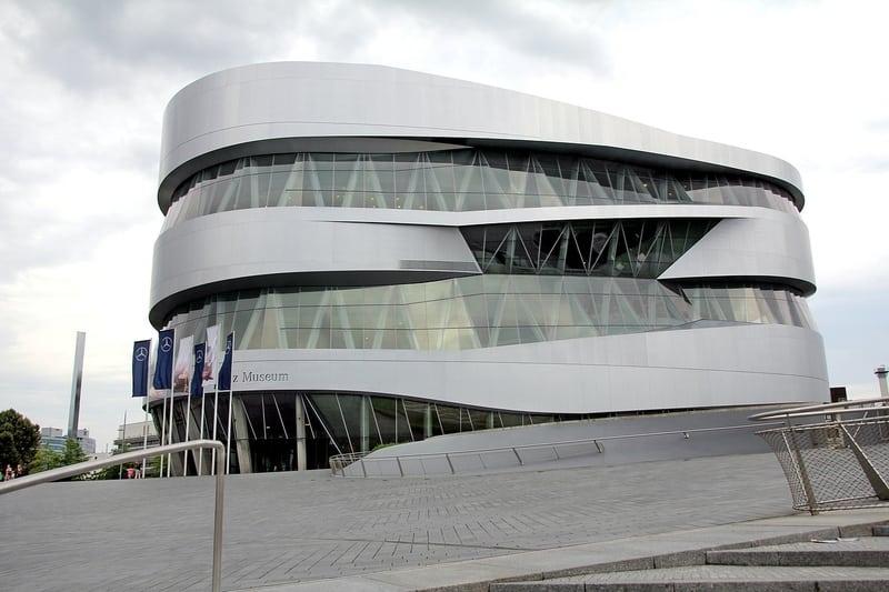 Mercedes Müzesi Stuttgart Görülecek Yerler