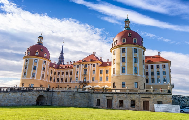 Moritzburg Kalesi Almanya
