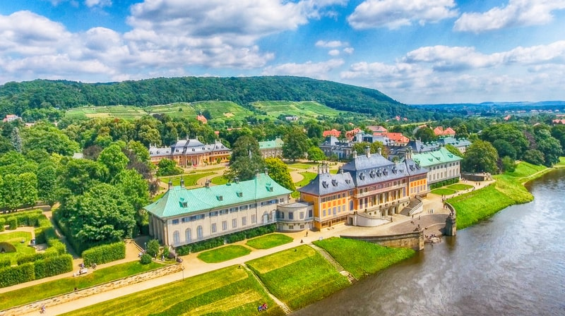 Pillnitz Sarayı ve Bahçeleri