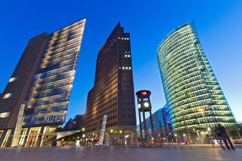 Potsdamer Platz - Berlin'in Gezilecek Yerleri
