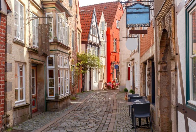 Schnoor Mahallesi - Bremen'in Gezilecek Yerleri