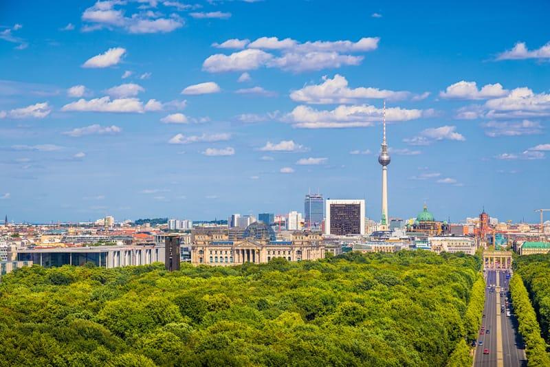 Tiergarten Park Berlin