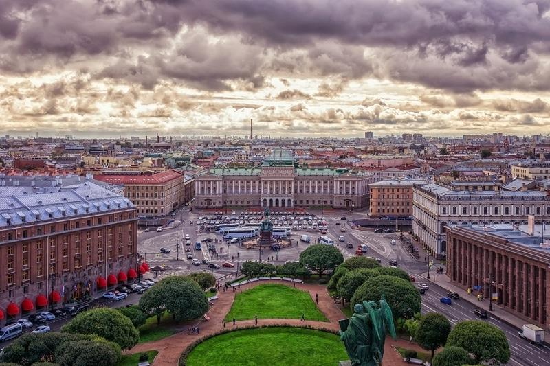 Admiraltskiy Bölgesi Petersburg