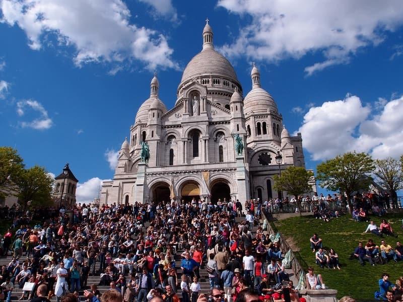 Sacre Coeur Bazilikası - Paris Otelleri