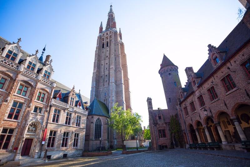 Bizim Leydi Kilisesi - Brugge Gezilecek Yerler