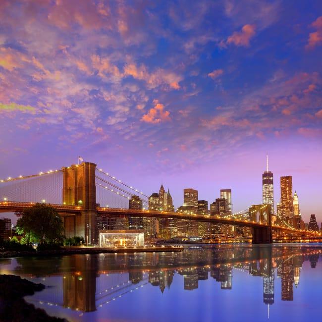 Brooklyn Köprüsü'nde Geçin