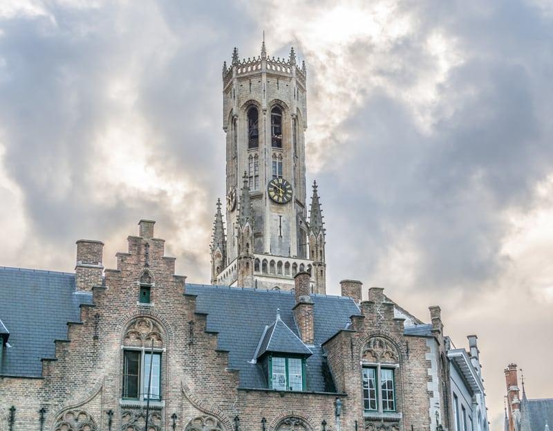 Brugge Çan Kulesi'ne Çıkın