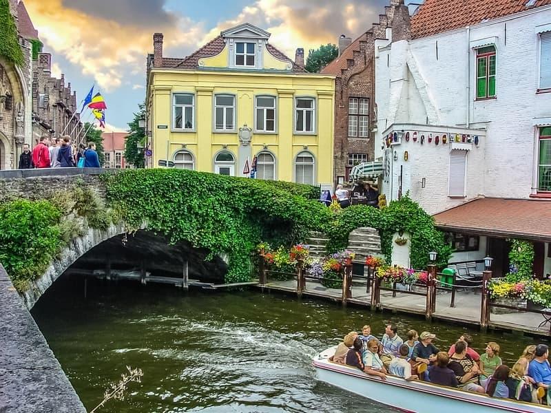 Brugge Kanal Turu - Brugge da Yapılacak Şeyler