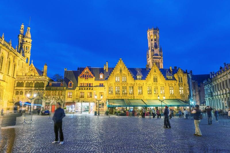 Markt - (Brugge Markt Meydanı)