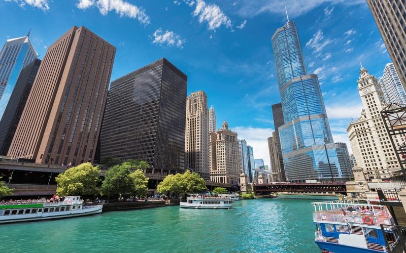Downtown Chicago Gezilecek Yerler