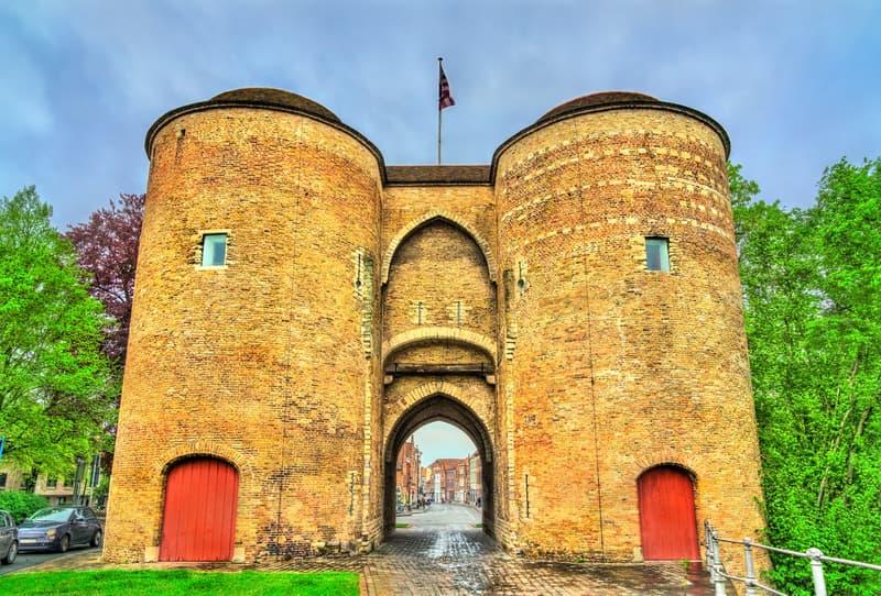 Gent Kapısı - Gentpoort Brugge Gezilecek Yerler Listesi