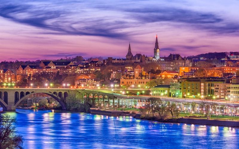 Georgetown - Washington Gezilecek Yerler Listesi
