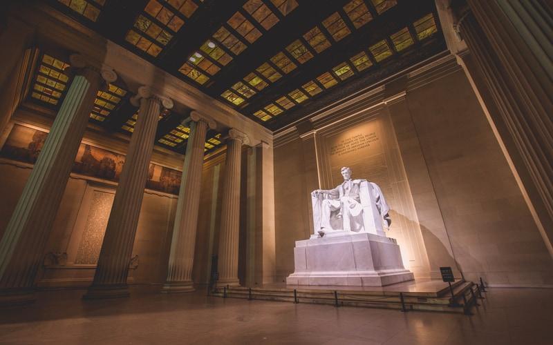 Lincoln Anıtı - Washington ABD