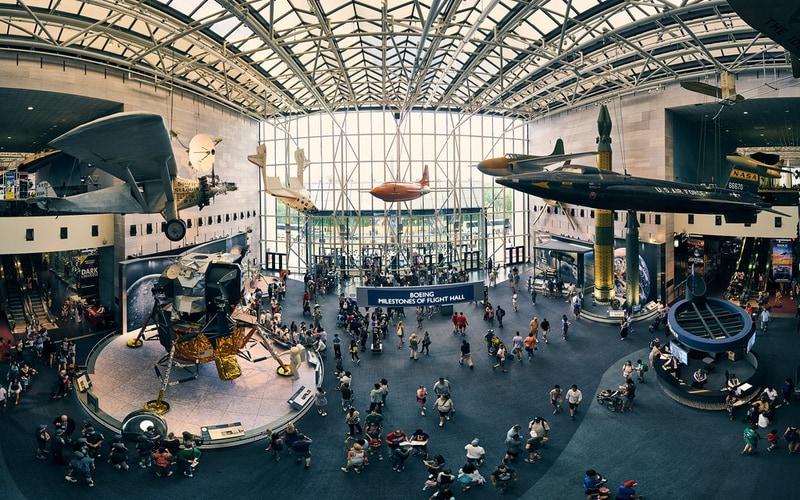 Ulusal Hava ve Uzay Müzesi - Washington DC Gezilecek Yerler Blog