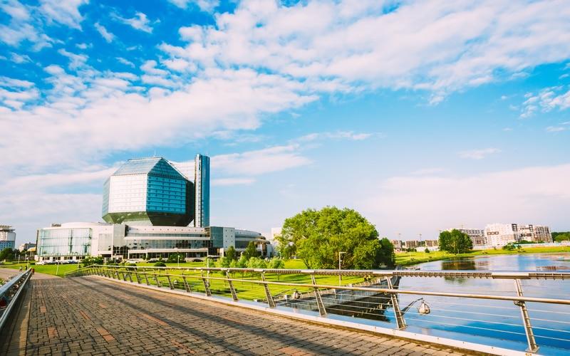 Minsk Belarus Ulusal Kütüphanesi