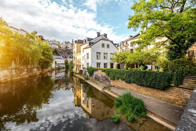 Lüksemburg Eski Şehir Bölgesi - Brüksel Çevresinde Gezilecek Yerler