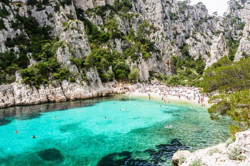 Calanques Ulusal Parkı Marsilya da gezilecek yerler