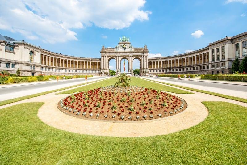 Parc du Cinquantenaire - Brüksel Gezilecek Yerler