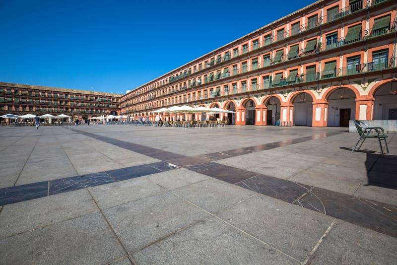Plaza de la Corredera Cordoba İspanya