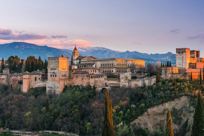 El Hamra Sarayı - Sevilla Çevresinde Gezilecek Yerler