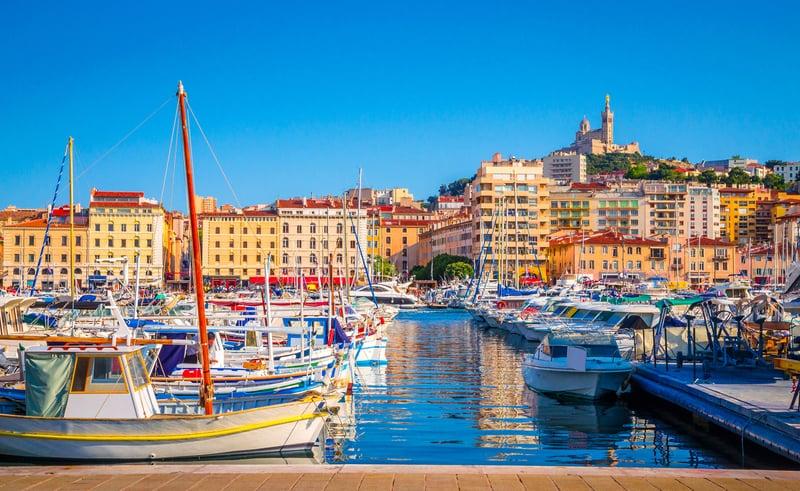Vieux Port - Eski Liman Marsilya Görülecek Yerler