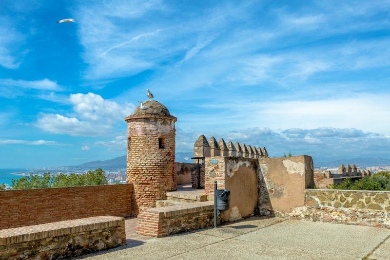 Gibralfaro Kalesi Malaga