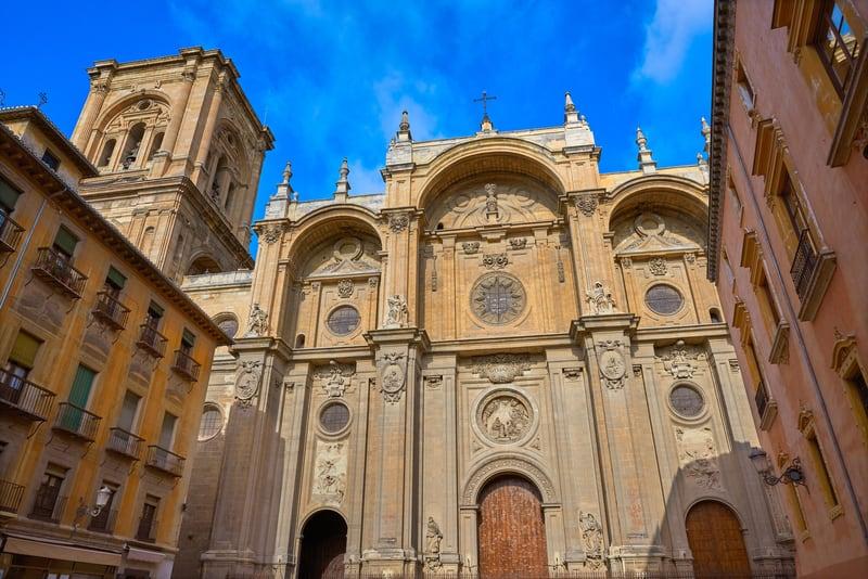 Granada Katedrali Cephesi