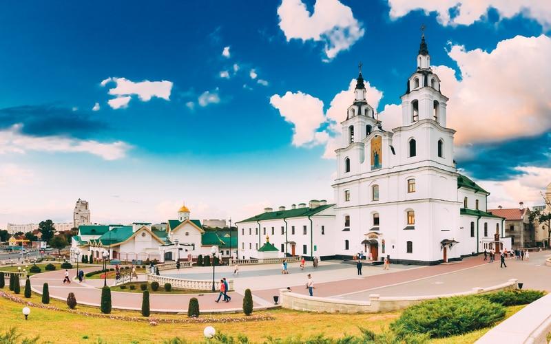 Holy Spirit Cathedral (Kutsal Ruh Katedrali) Minsk Gezilecek Yerler Blog
