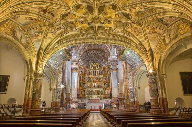 San Jeronimo Manastırı İçi