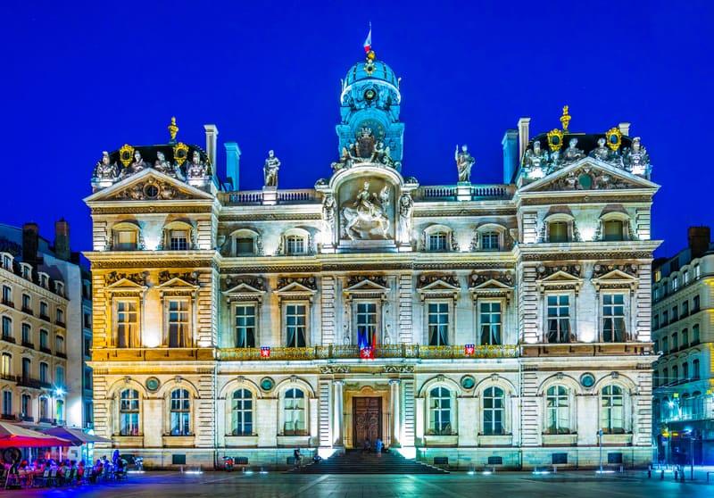 Hôtel de Ville - Lyon Belediye Binası