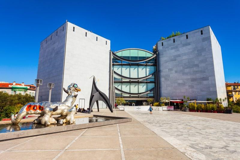 MAMAC Müzesi Nice Turistik Yerler