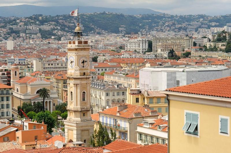 Eski Şehir Bölgesi Nice Tarihi Yerler