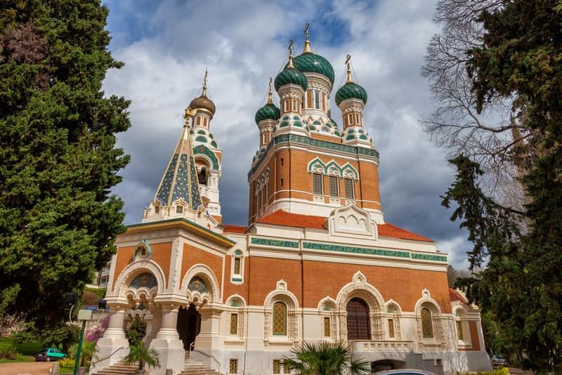 Nice Rus Ortodoks Katedrali