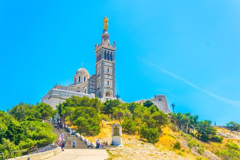 Notre-Dame de la Garde Bazilikası Marsilya