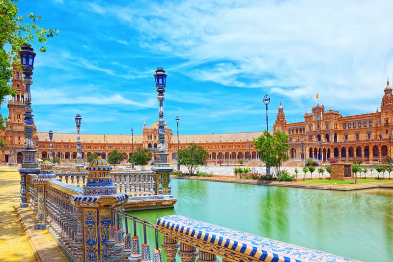 Plaza de Espana - İspanyol Meydanı Sevilla